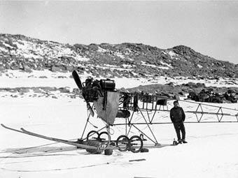 В Антарктиде нашли один из старейших самолетов в мире