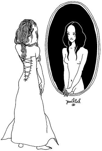 Смотреть в зеркало опасно?