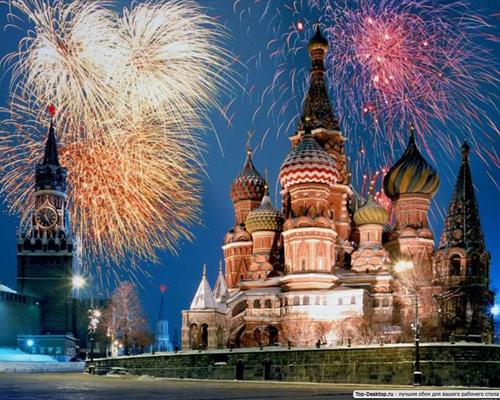 2010 год. Новогодние салюты в разных уголках мира