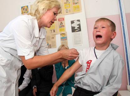 Вакцинация против свиного гриппа началась в Беларуси