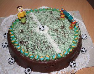 Футбол в тортах !