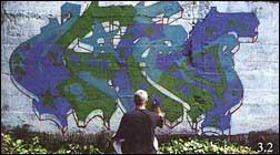 Граффити - техника рисунка