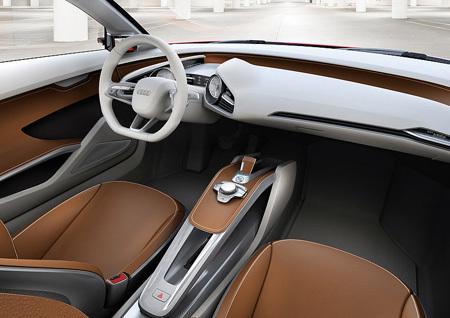 Авто будущего Audi e-tron
