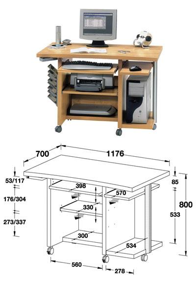Как сделать компьютерный стол своими руками - СтеллСервис