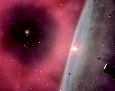 Взрыв звезды в созвездии Компас может угрожать Земле