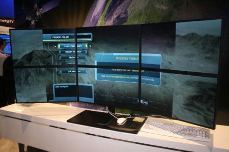 Разработки Samsung для ATI Eyefinity: три монитора хорошо, а шесть — лучше!