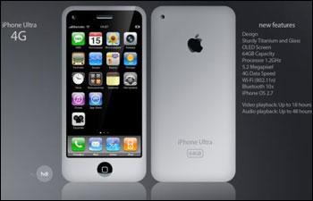 iPhone 4G — улучшенная графика, многозадачность и камера со вспышкой