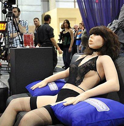Изобретен первый в мире секс-робот