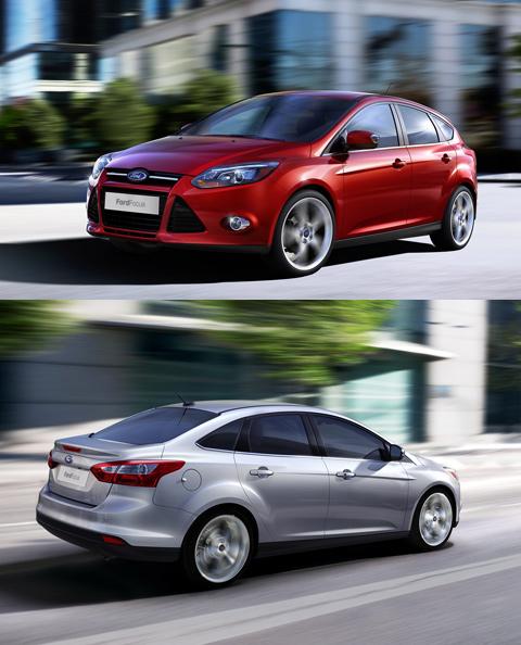 В третий раз продемонстрирован Ford Focus — опять как новый