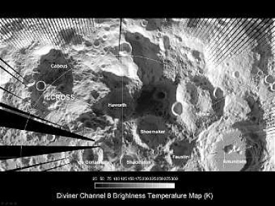 Самое холодное место в Солнечной системе вновь нашли на Луне
