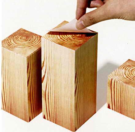 Прикольная идея от японского дизайнера Kenjiro Sano