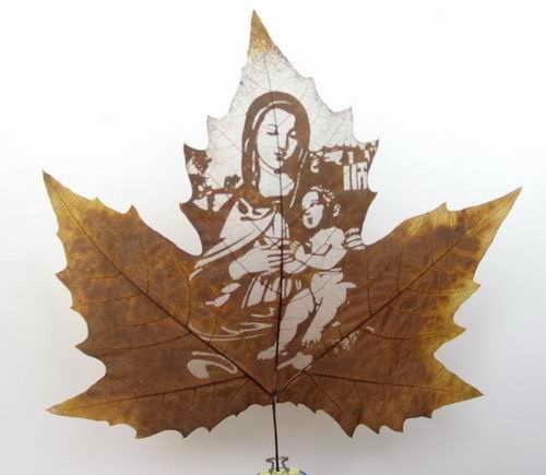 Резьба по листьям от мастеров Longal Artwork