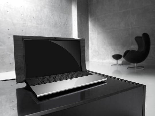 """""""Моддинг"""" ноутбука ASUS от компании Bang & Olufsen"""
