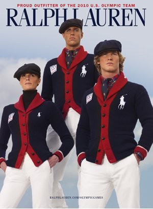 Ральф Лорен одел американских олимпийцев