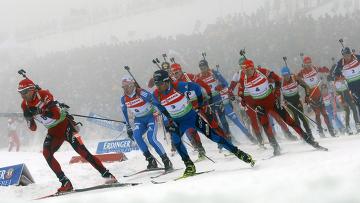 Украинец Сергей Седнев выиграл индивидуальную гонку в Антхольце