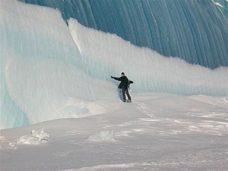 Застывшие волны Антарктики