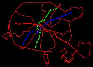 В Минске проектируют очередную линию метро