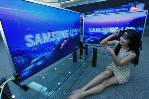 Samsung начинает серийный выпуск 3Д телевизоров