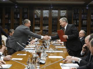 Беларусь и Россия подписали пакет документов по поставкам нефти