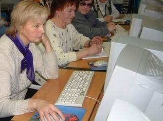 В Минске открыли компьютерный клуб для пенсионеров