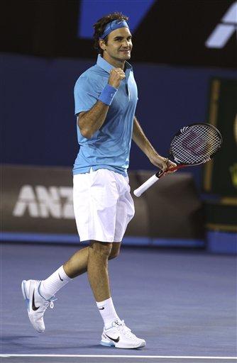 АО-2010. 22-й финал Федерера на турнирах «Большого Шлема»