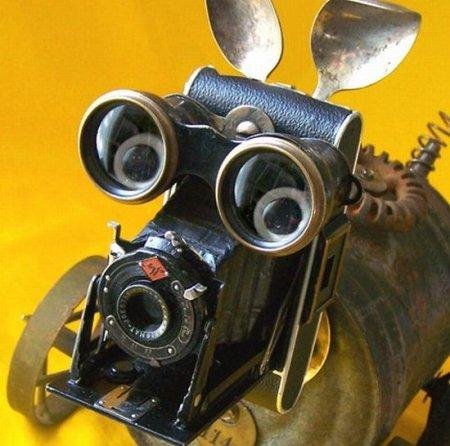 Mitzy the Steampunk Dog