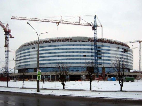 """Открытие """"Минск-Арены"""" состоится 23 января 2010 года"""