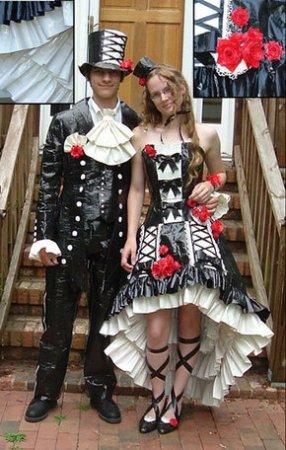 Самые идиотские костюмы на выпускной