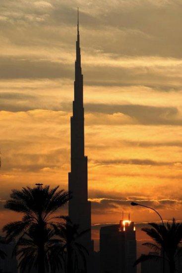 Открытие самого высокого небоскреба в мире