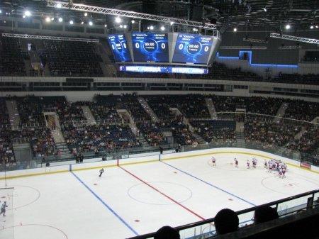 Минск-Арена. Тестовые испытания