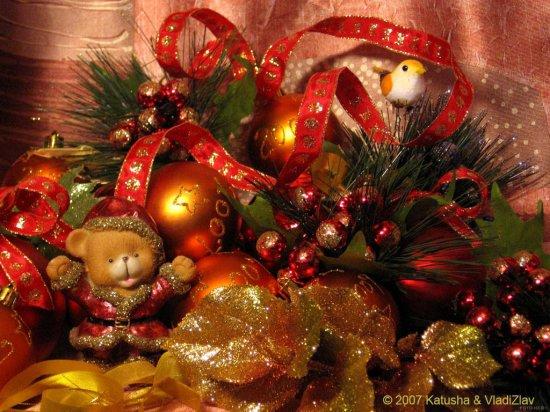 Рождественские обои