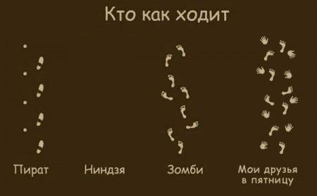 Кто как ходит