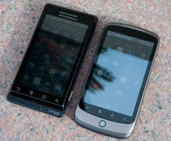 Обзор Google Nexus One