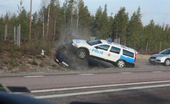 Шведские полицейские суровее челябинских ?