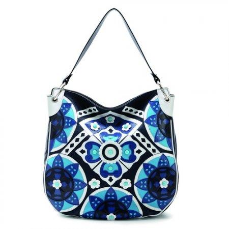 С самого начала креативные сумочки Braccialini изготавливались из...