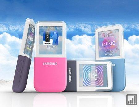 Samsung IceTouch - плеер с прозрачным дисплеем