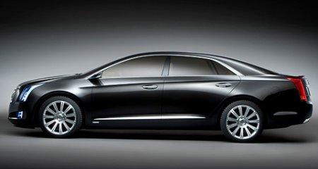 Фирма Cadillac продемонстрировала свой будущий флагман XTS Platinum Concept