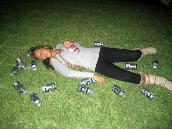 За распитие пива на улицах будут штрафовать