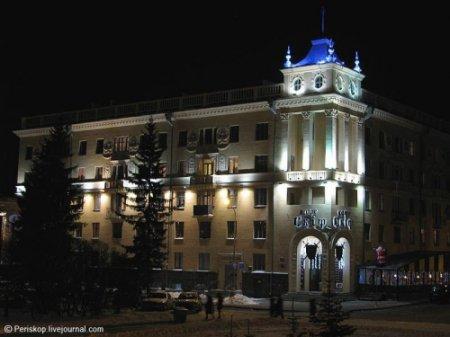 Огни вечернего Минска