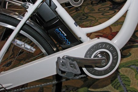 Sanyo Eneloop - гибридный электро-велосипед