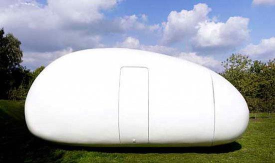 Мобильный дом в форме яйца VB3