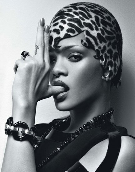 Rihanna for W Magazine February 2010