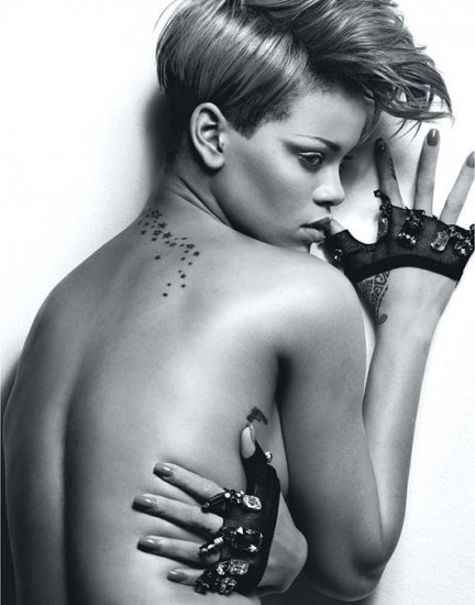 Rihanna for W Magazine February 2010