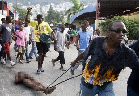 Полная анархия на Гаити