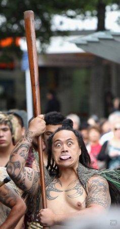 Боевой танец племени Маори - Хака