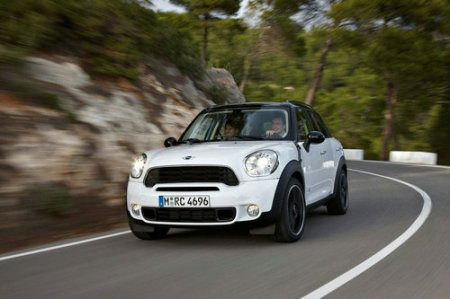 Mini Countryman Crossover: первые фото