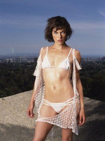 Milla Jovovich - Maxim Bikini Photoshoot