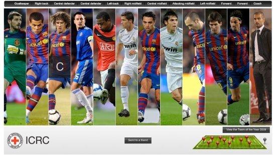 Команда Года 2009 ! Версия uefa.com !
