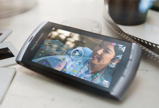 Sony Ericsson Vivaz - официальный анонс камерофона