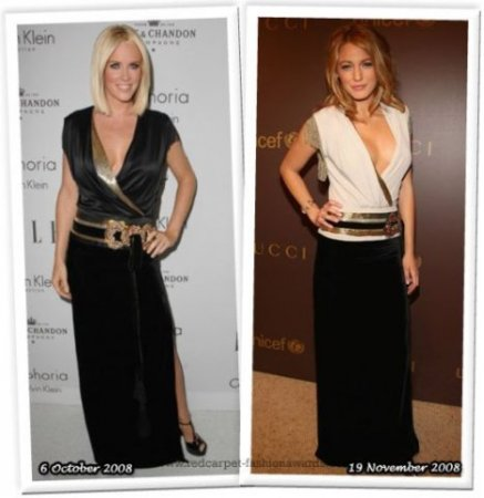 Звезды в одинаковой одежде